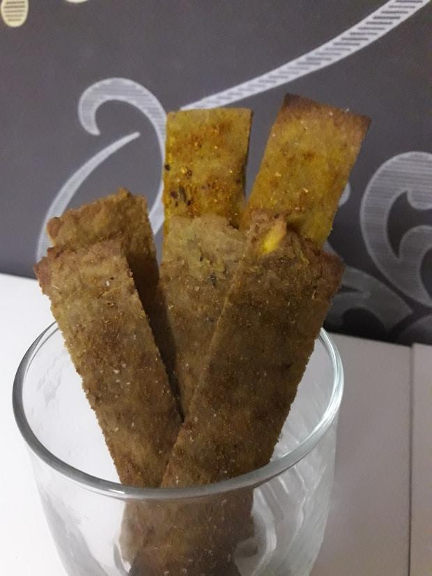 Paleo Crackers Crujientes